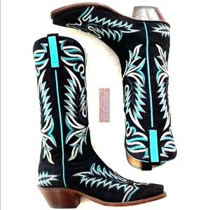 SALE❤️LUCCHESE Handmade Classic Stitched Boots 7